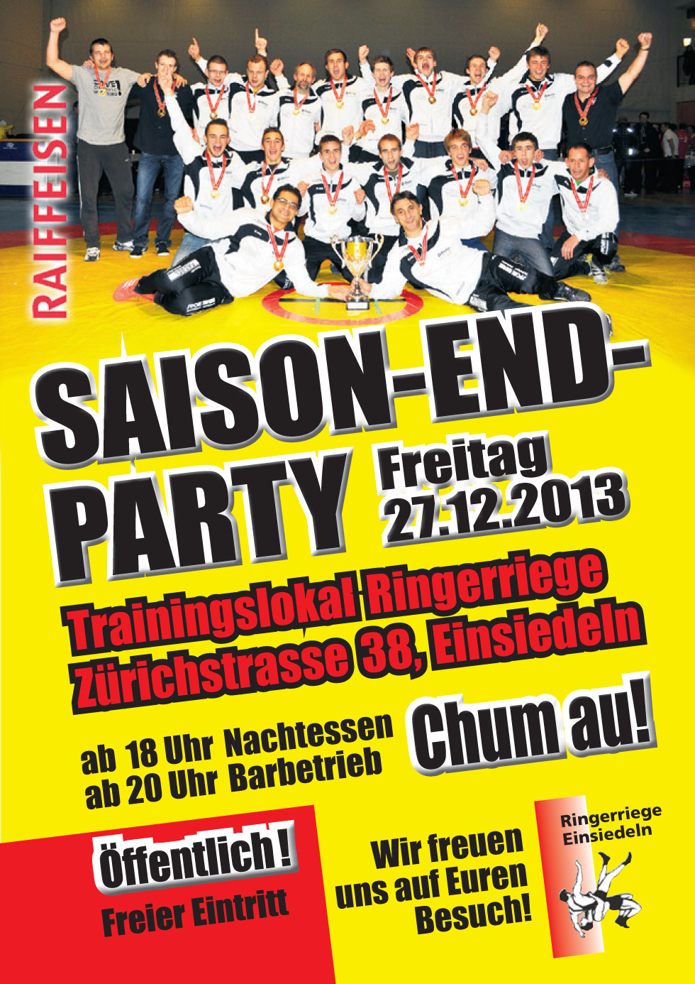 SAISON-END-PARTY 2013